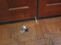 Keys at Door