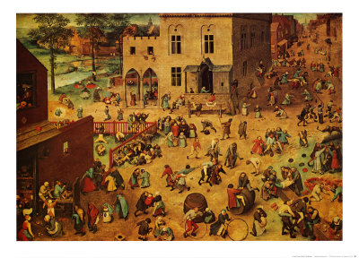 Bruegel, Children's Games