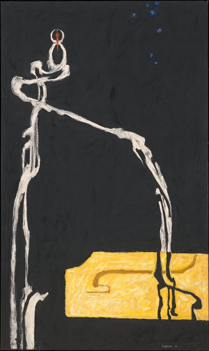 Clyfford Still, Untitled [formerly Self-Portrait], 1945; painting; oil on canvas, 70 7/8 in. x 42 in Source: http://www.sfmoma.org/explore/collection/artwork/297##ixzz2TzYIYlkD San Francisco Museum of Modern Art