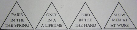 Triangle  Words