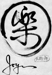 JOY in Chinese Letters